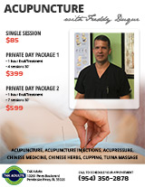Acupuncture with Freddy Duque