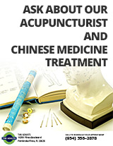 Ask about our acupuncturist